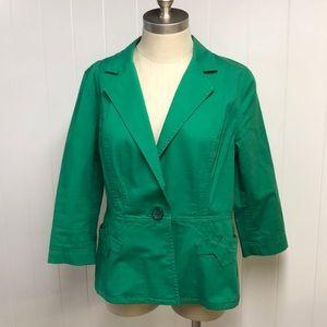 CAbi Verde Jacket #5097 Green Blazer